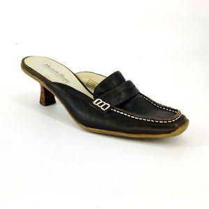 Madeline Stuart Vintage Moc Toe Penny Loafers